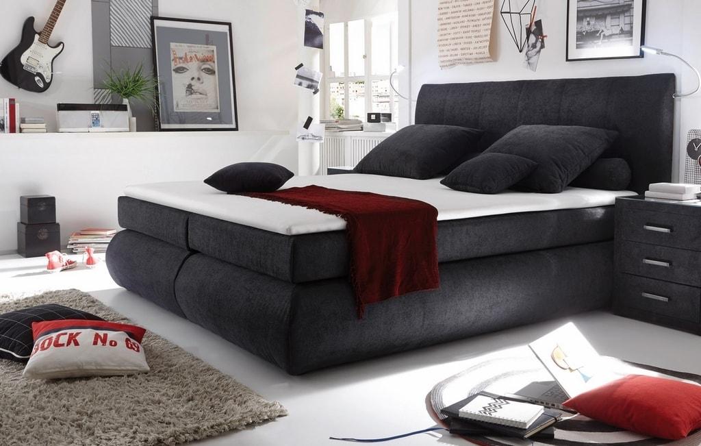 postel s matrac riminni 180x200 cm visco inari 95 maxi postele. Black Bedroom Furniture Sets. Home Design Ideas